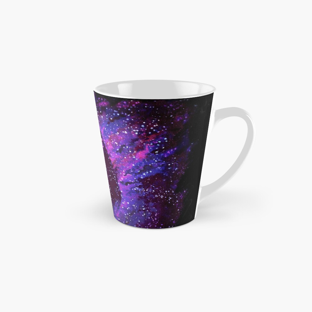 Cosmic Purple Space Llama Mug