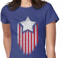 Stars And Stripes Womens Fitted T-Shirt