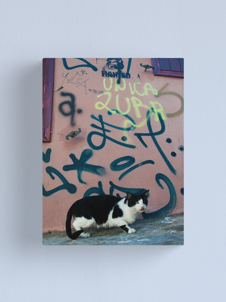 Alternate view of Tagged Canvas Print