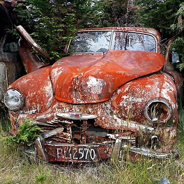 old rusty car 1 by 64stops