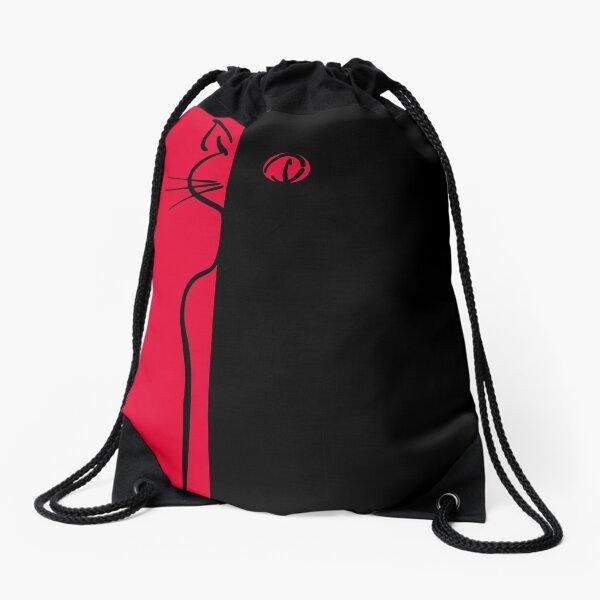 The Black Cat ~ Bohème Drawstring Bag