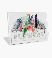 Watercolor Flower Box Laptop Skin