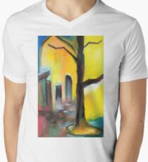 dry tree Men's V-Neck T-Shirt