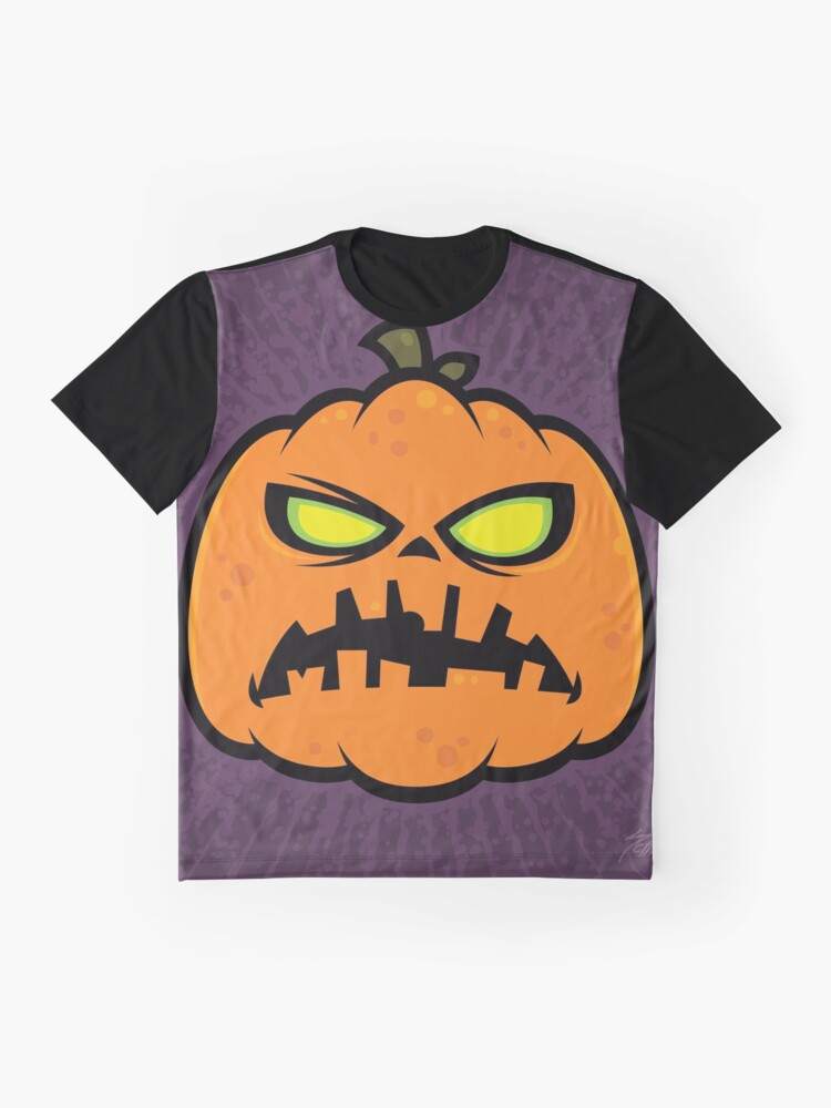 Alternate view of Pumpkin Zombie Graphic T-Shirt