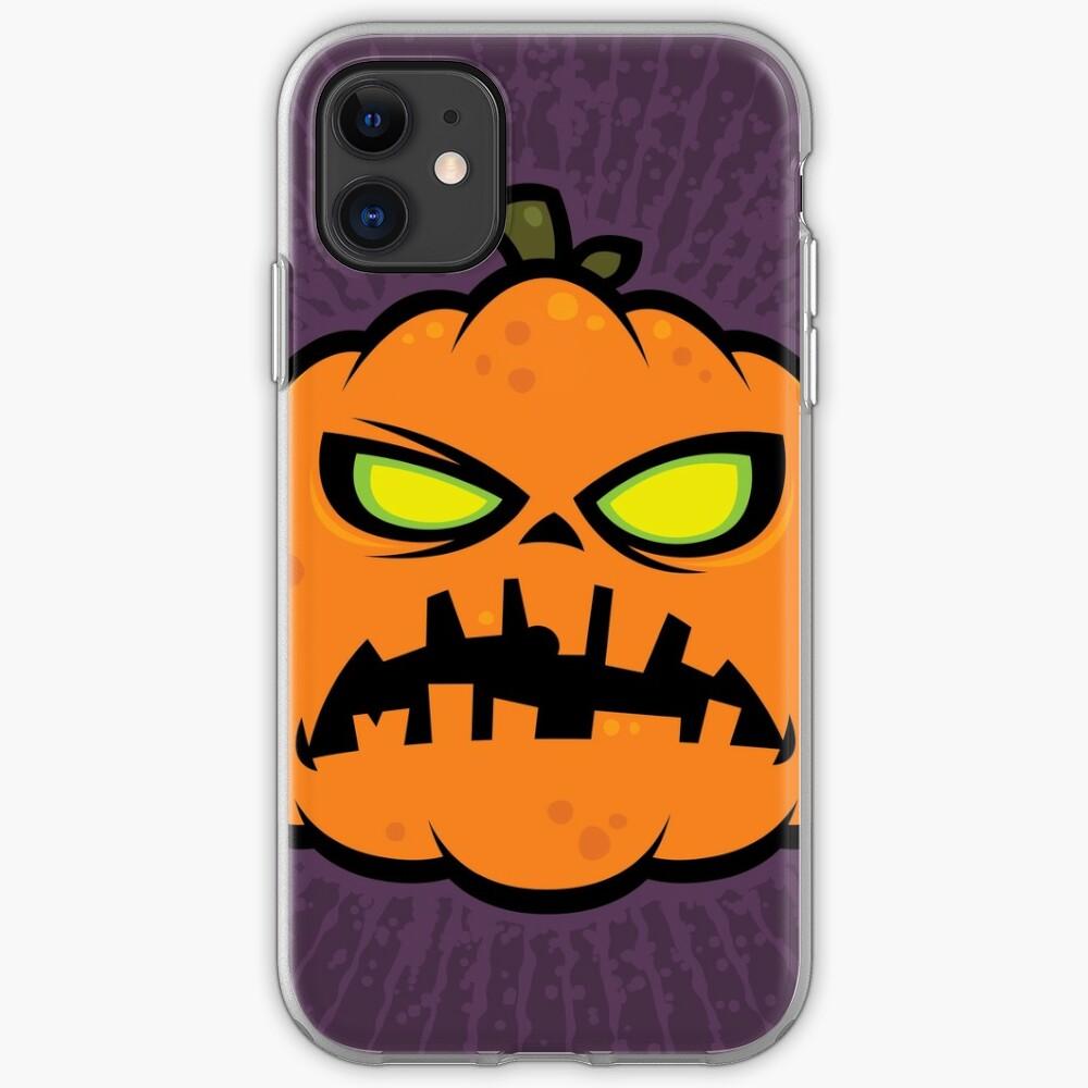 Pumpkin Zombie iPhone Case & Cover