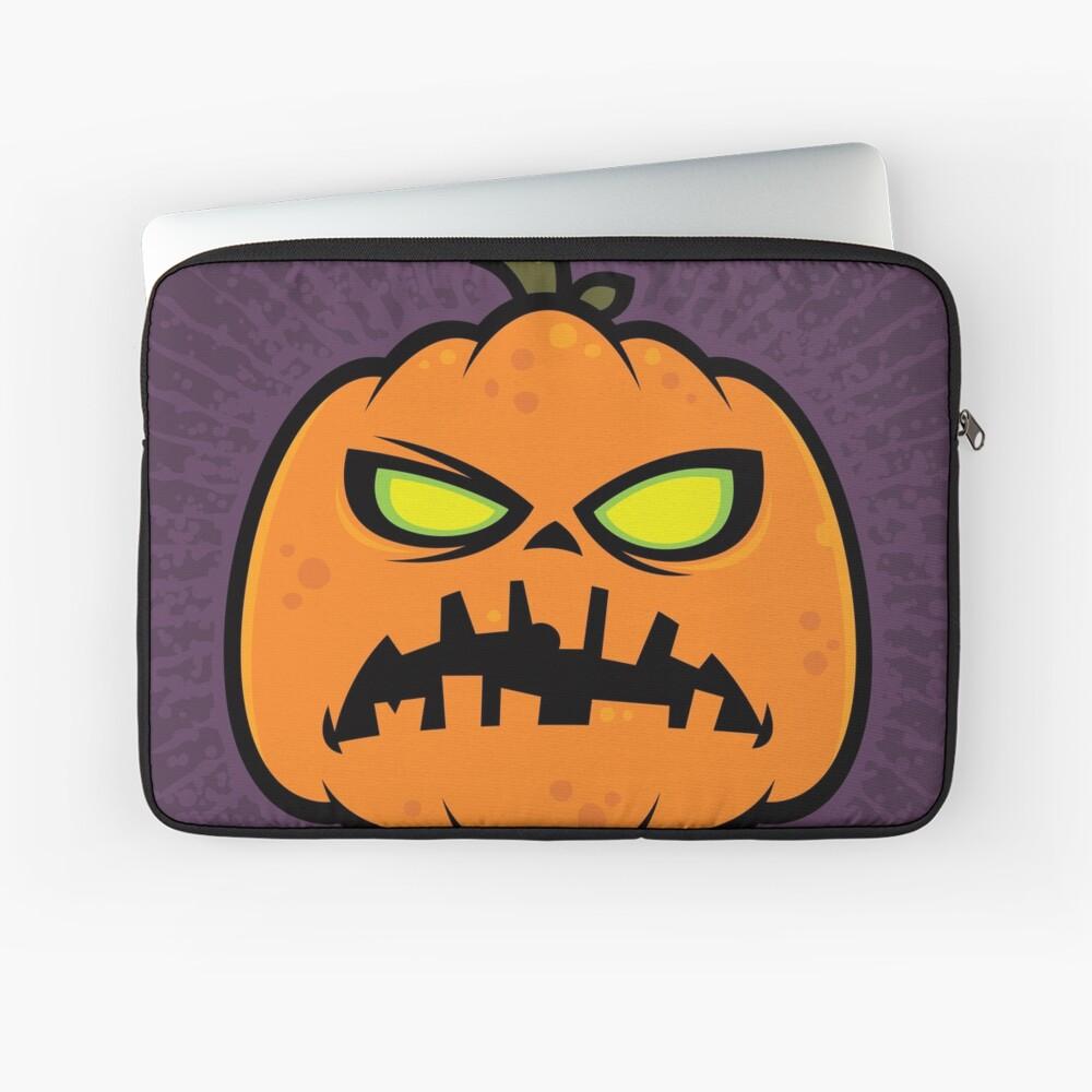 Pumpkin Zombie Laptop Sleeve