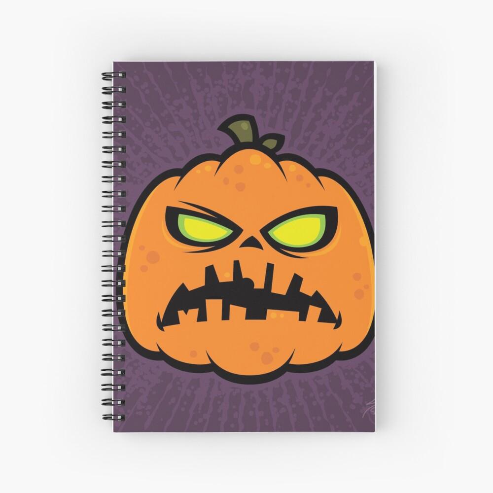 Pumpkin Zombie Spiral Notebook
