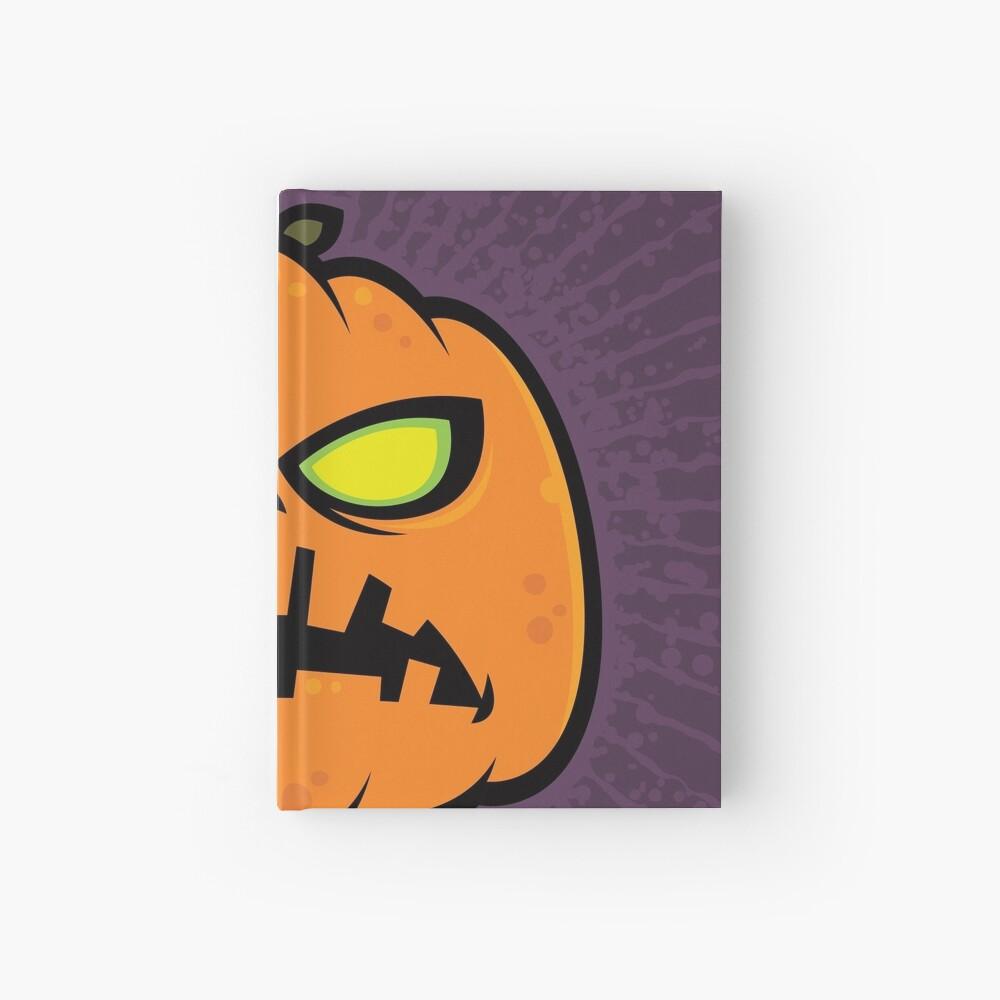 Pumpkin Zombie Hardcover Journal