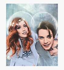 Clace Frost Love Photographic Print
