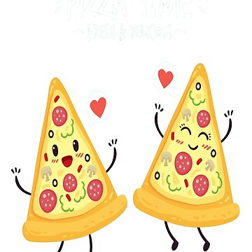 lovely couple of pizza by bounab2018