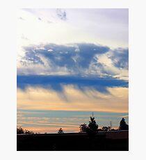 Rain Clouds Photographic Print