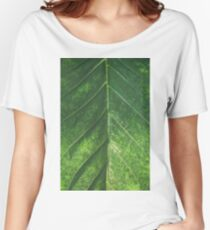 Botanical Gardens Leaf #101 Women's Relaxed Fit T-Shirt