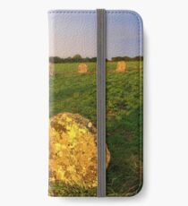 Merry maidens Stone Circle, Cornwall iPhone Wallet/Case/Skin