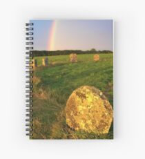 Merry maidens Stone Circle, Cornwall Spiral Notebook