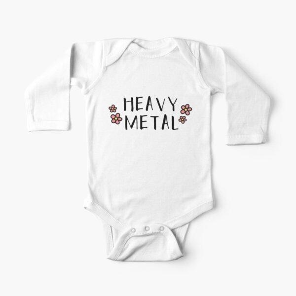 Heavy Metal Baby Cute Rock n Roll Novelty-Baby One Piece