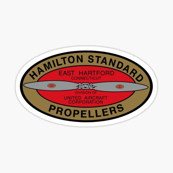 Hamilton Standard Logo Reproduction Sticker