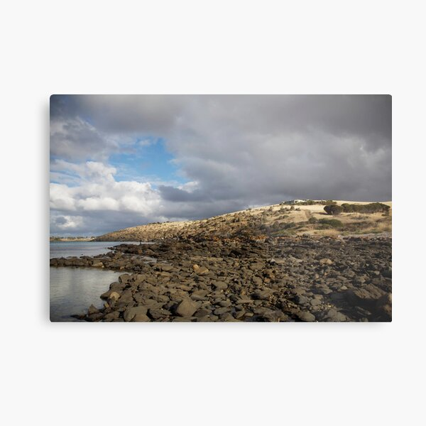 seascapes #217, rocky beach Metal Print