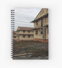 Abandoned - Fort Ord Barracks by SparklePyre Spiral Notebook