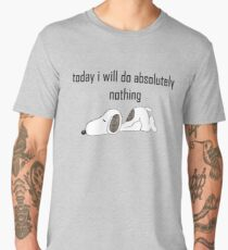 lazy dog days Men's Premium T-Shirt