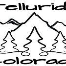 Skiing Telluride Colorado Mountains Ski Snowboard by MyHandmadeSigns