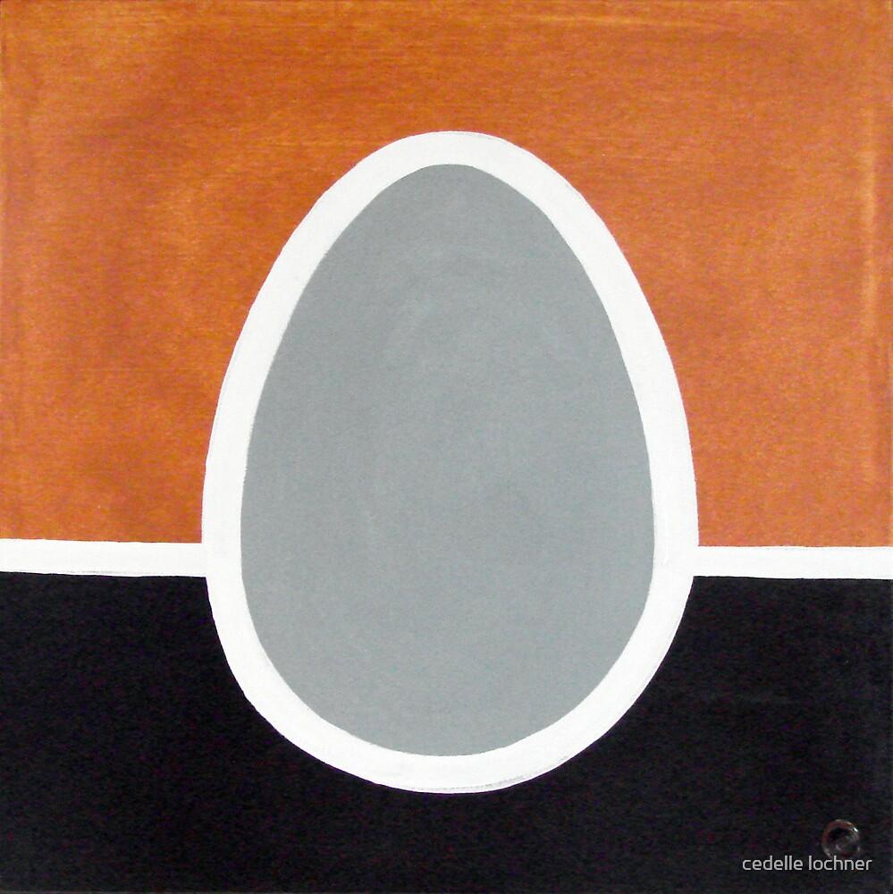 Egg (1 of set) by cedelle lochner