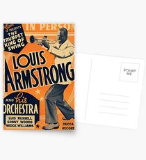 Louis Armstrong Vintage Postcards