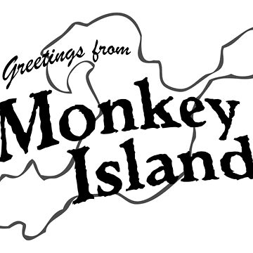 GREETINGS FROM MONKEY ISLAND by scummbar