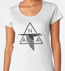 North American Aviation Logo (Black) Women's Premium T-Shirt