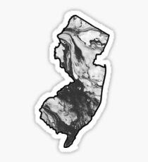 Marble NJ Sticker