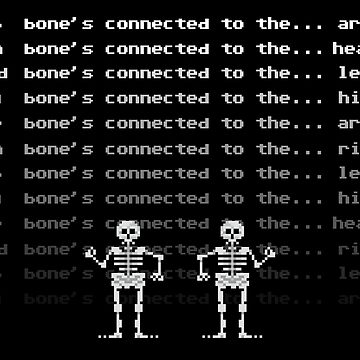 THE SKELETON DANCE by scummbar