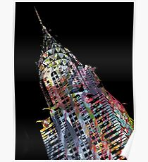 Chrysler Building - © Doc Braham; All Rights Reserved Poster