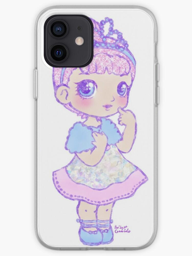 Mignon Kawaii Crystal Queen LOL Surprise Art de poupée   Coque iPhone