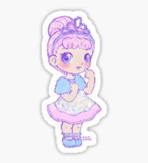 Cute Kawaii Crystal Queen L.O.L. Surprise Doll Art Sticker
