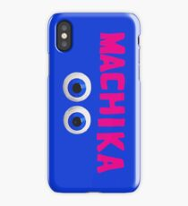 Machika - Blue iPhone Case/Skin