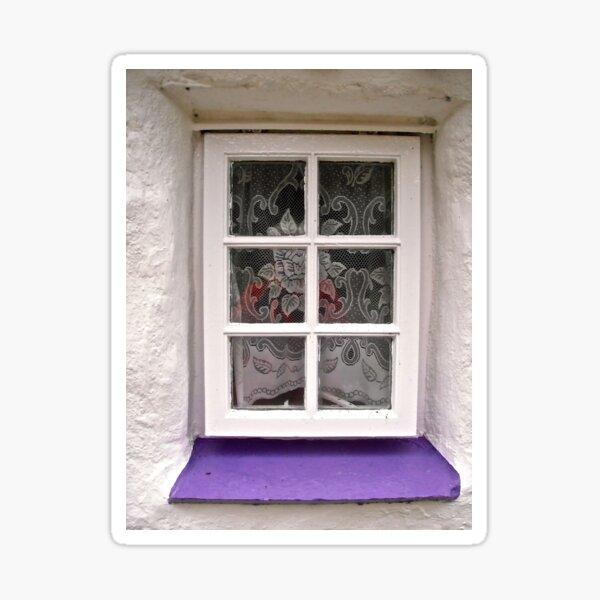 Irish Window #2 - for a calendar Sticker