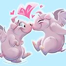 Pigs in Love by Mariana Moreno