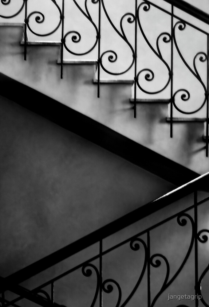 Morroccan stairs by jangetagrip