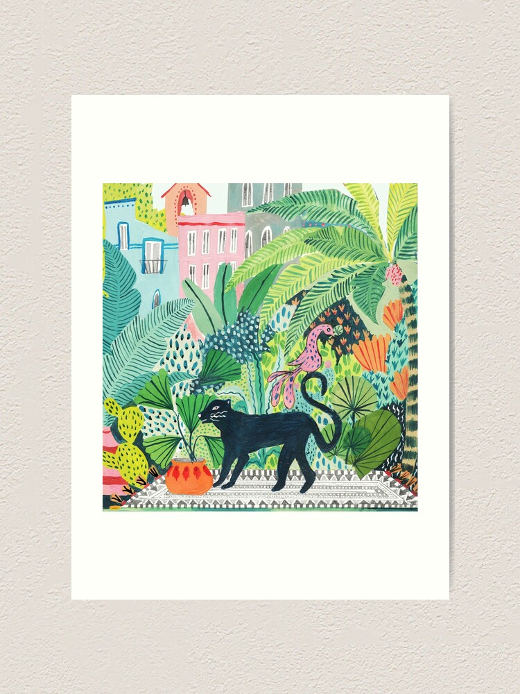 Alternate view of Jungle Panther  Art Print