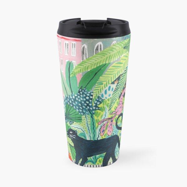 Jungle Panther  Travel Mug