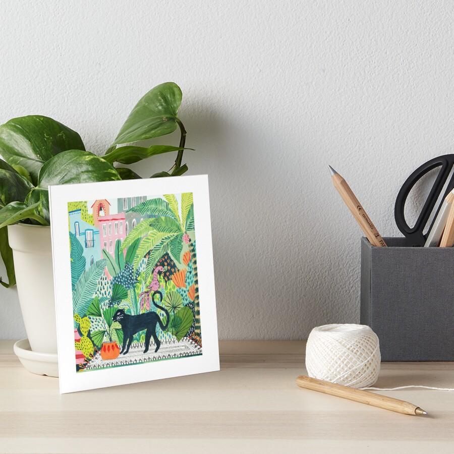 Jungle Panther  Art Board Print