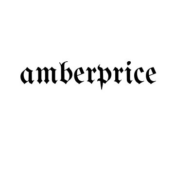 AMBERPRICE gothic font by ashleyfranjapan
