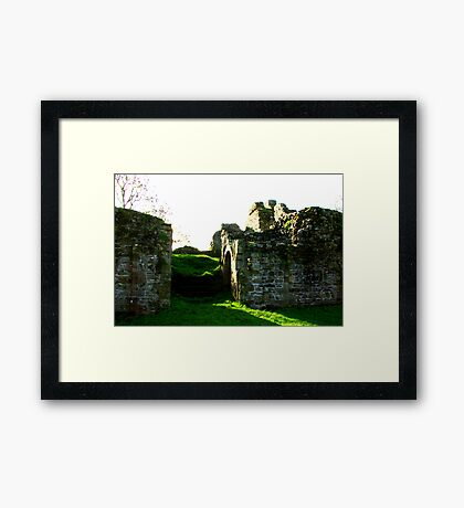 Pendragon Castle #3 Framed Print