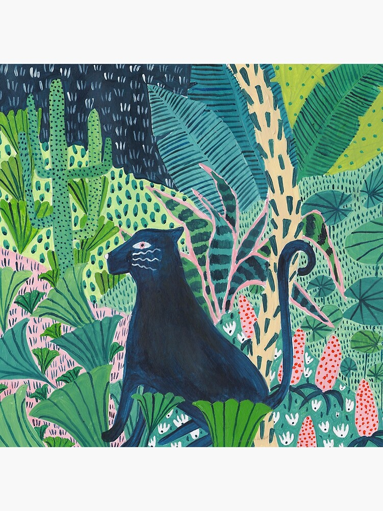 Jungle Jaguar  by amberstextiles
