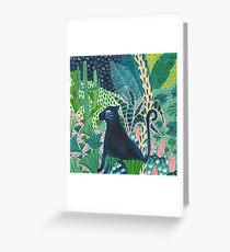 Jungle Jaguar  Greeting Card