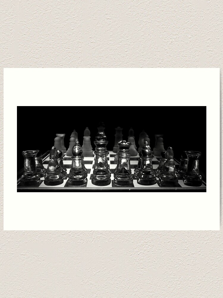 Alternate view of Chess 3072: Yes, let's play it! Art Print