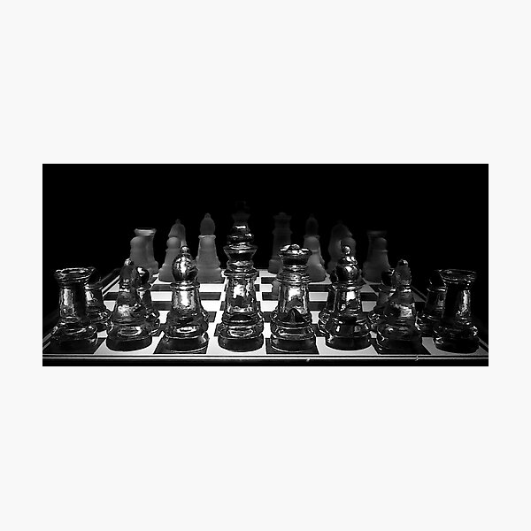 Chess 3072: Yes, let's play it! Photographic Print