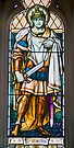 Stained Glass Window of St Martin, St Davids Cathedral, Hobart by BRogers