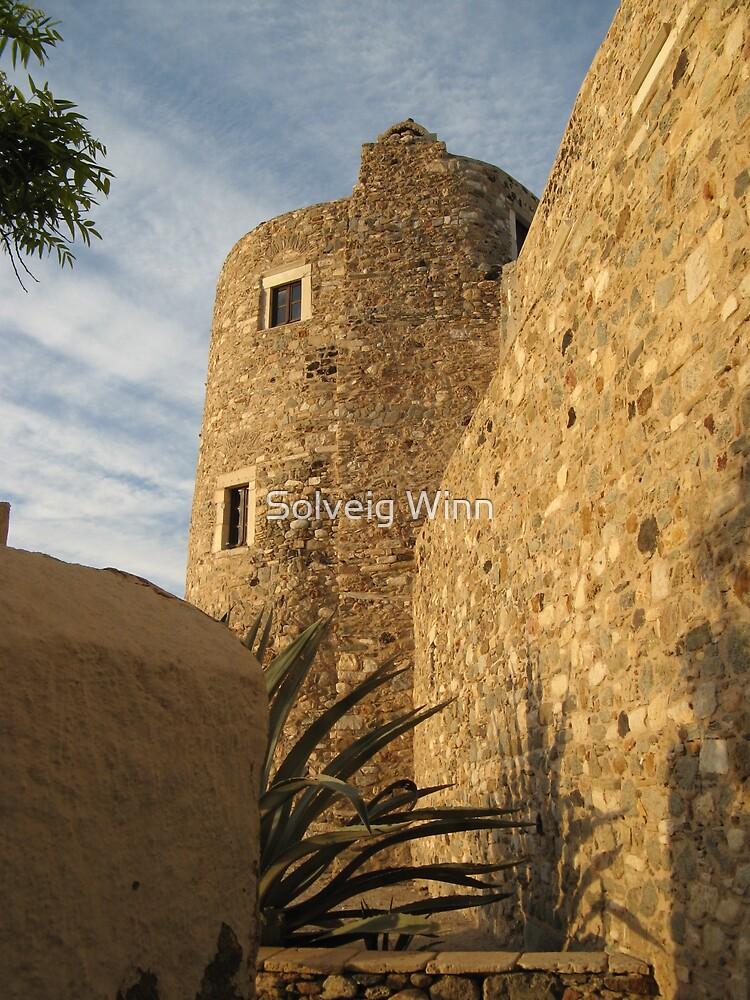 Greece - Fortress by Solveig Winn