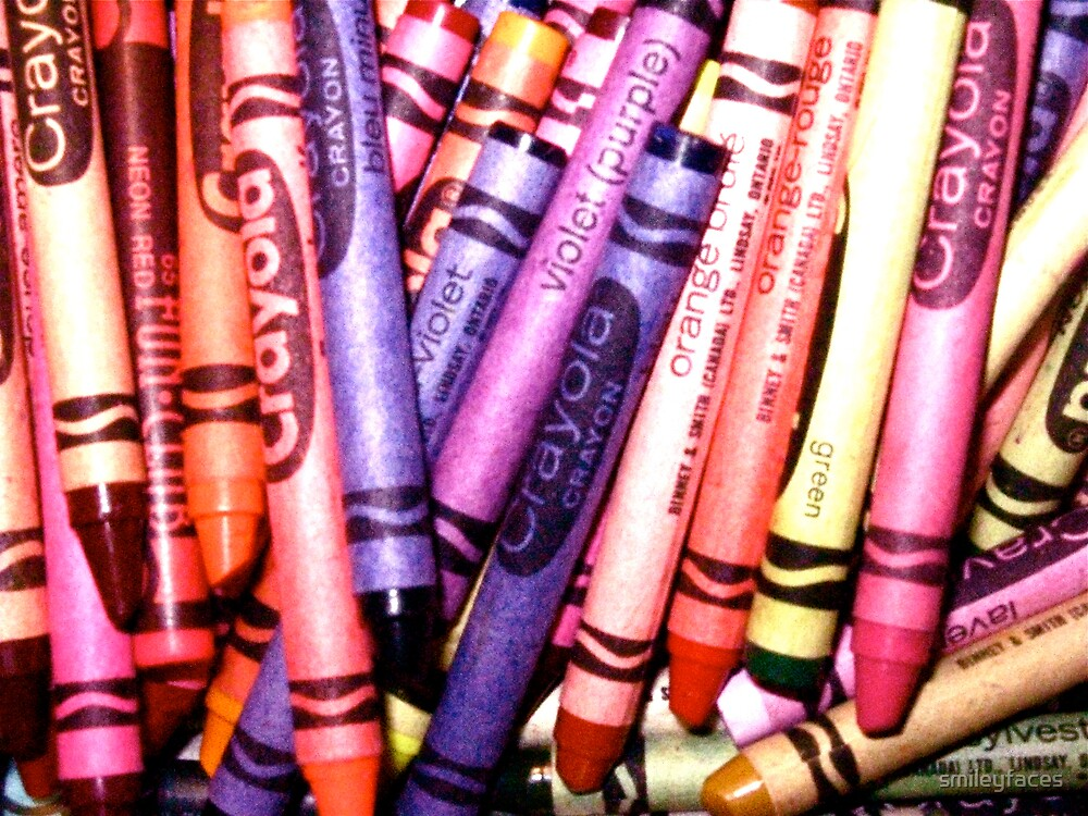 Colour in Crayon by smileyfaces