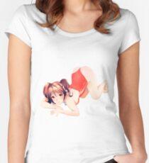 Coke girl Women's Fitted Scoop T-Shirt